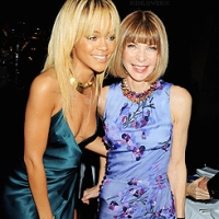 Rihanna & Anna Wintour Sighted in London