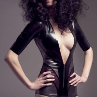 Joy Williams  Latex Lingerie Spring 2012