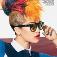 Rita Ora by Richard Burbridge for Teen Vogue August 2013